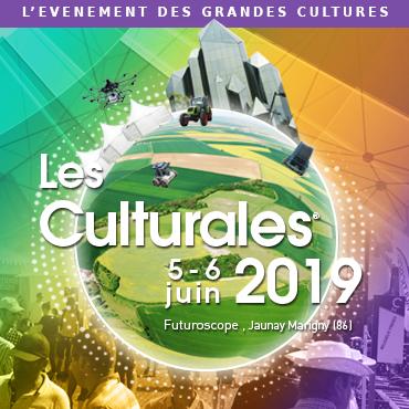 les 05 & 06 juin - Les Culturales au Futuroscope, Jaunay-Marigny (86) Logocarreculturales2019